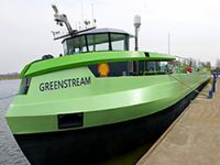 Inland vessels can now bunkers