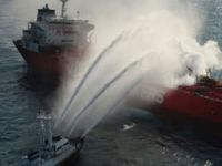 Collided with chemical tanker