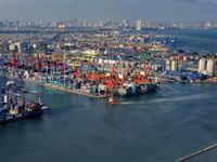 Container terminal to be built
