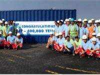 Gulftainer Marks 400,000 TEU Milestone at SCT