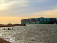 The World's Largest Ship calls at the Port of Felixstowe