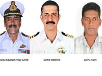 Navy honours service personnel on 66th R-Day for saving human lives at sea