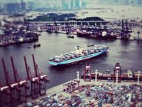 Image of the Day: Edith Maersk Heads to Hong Kong