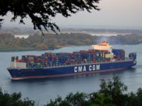 CMA CGM takes delivery of boxship