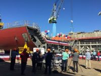 NASSCO Lays Keel for First ECO Tanker