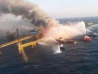 Pemex Oil Rig Fire Contained, Platform Still Standing