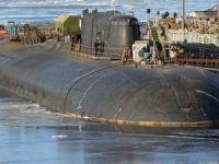 Russian nuclear sub catches fire, but no weapons aboard