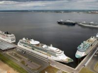 Marine Façade (Saint-Petersburg) welcomed 33 cruise ships in May 2015