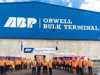 Orwell bulk terminal officially opened in Ipswich port