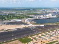 Höegh Autoliners Inaugurates Vehicle Terminal in Texas