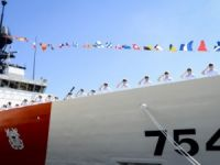 USCG Commissions National Security Cutter in Boston