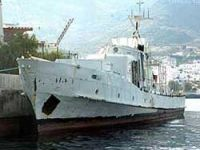 Military boat to divers in Bodrum