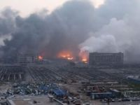Tanker movements disrupted at China's Tianjin port after blasts