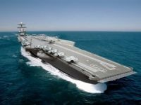 Keel Laid for Second Ford-Class Aircraft Carrier