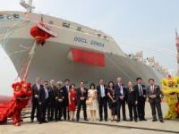 OOCL Names Its Latest Trans-Pacific Bound Boxship