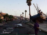 Coquimbo Port Closed following Massive Earthquake in Chile