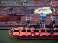 Baltic dry index edges up again