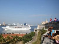 Carnival Cruise Ship Pulls into Havana on Historic Cuba Voyage