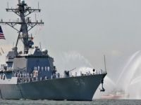 Iranian Speedboats Intercept/Harass American Guided Missile Destroyer