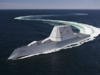 U.S. Navy's New High Tech Destroyer Suffers 'Engineering Casualty'