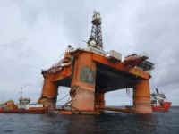 Weather Postpones Transocean Winner Float-On