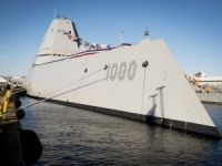 U.S. Navy Commissions Its Biggest and Baddest Destroyer Ever