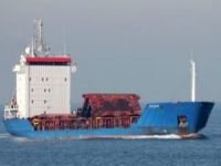 Cargo ship United Ocean disabled by fire off Libya
