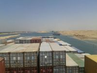 Containership Hinders Traffic in Suez Canal