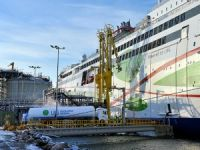 Tallink's New Ferry Bunkered with LNG for the 1st Time