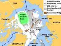 Russia claims the application for expansion of Danish borders in the Arctic shelf