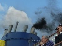 Air Pollution Documented on Cruise Ship Deck