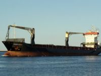 General cargo ship Thorco Crown disabled after fire in Cabot Strait