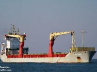 Disabled Cargo Ship Off Newfoundland
