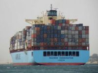 Three Containers Fall into the Sea from Maersk Kensington