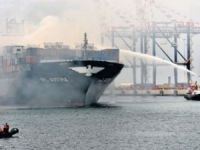 Fire on board of the container ship APL Austria was completed extinguished