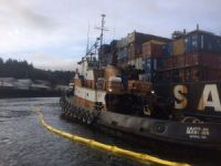 Coast Guard: 1,100 Gallons of Diesel Spilled from 'Samson Mariner' in Alaska