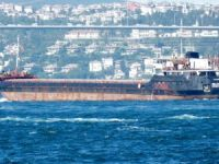 General cargo ship Bellatrix stuck on reef off Lesvos island in Greece