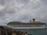 Costa Magica caught fire in engine room during eastern Caribbean cruise