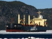 Bulker Collides with Iceabreaker in Northern Sea Route