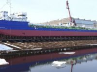 Krasnoye Splashes First Volgotrans Tanker