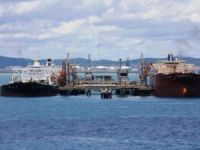 Crude oil spilled at Venezuela's main oil terminal
