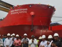 Bangladesh Splashes Its Largest Vessel Built to Date