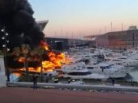 Major fire completely damages six yachts at Port Forum marina in Barcelona