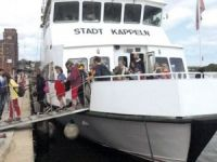 Passenger vessel Stadt Kappeln with 80 people disabled near Maasholm, Germany