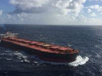 Uruguayan Navy resumed SAR for the missing crew of capsized ore carrier Stellar Daisy