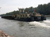Towing tug Muflon 8 collided with two vessels at Europe Canal