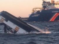Ferry Siebengebirge capsized at towing off Netherlands