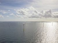 World's Second-Largest Offshore Wind Farm Opens Off Dutch Coast