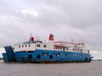Indonesian ferry KMP Jambo IX in distress after mechanical failure in Bali Strait