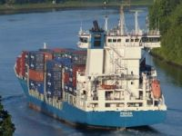 Container ship Fenja collided with passenger sailing vessel in Kiel Canal